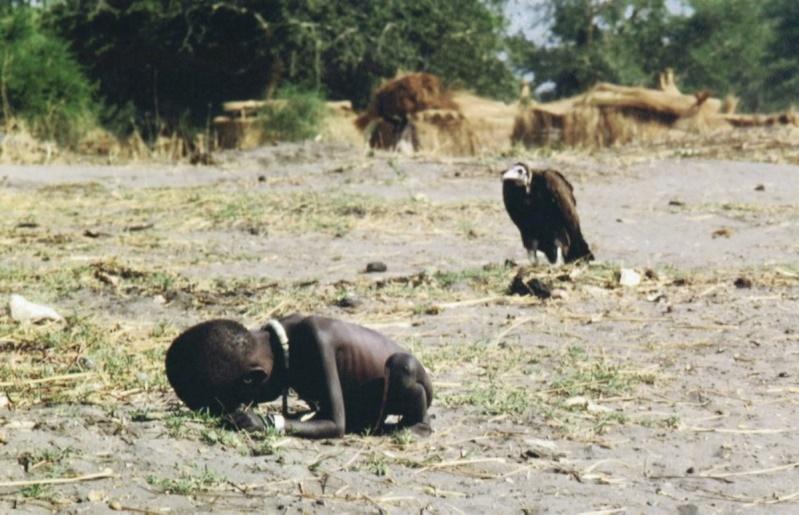 la fillette et le vautour