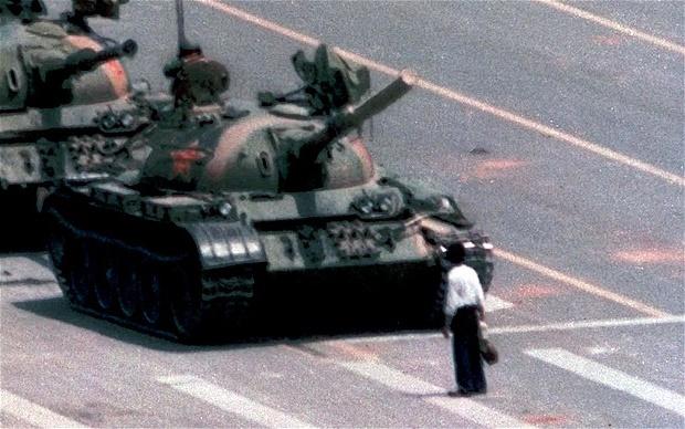 rebelle inconnu de Tian'anmen
